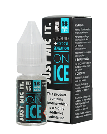 Just Nic It On Ice High VG Nicotine Booster Shot by Just Nic It - Vapox UK LTD (4540715335752)