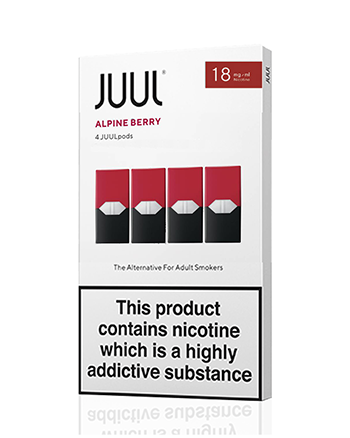 JUUL Alpine Berry Nic Salt E-Liquid Pod - Vapox UK LTD (5238255452321)