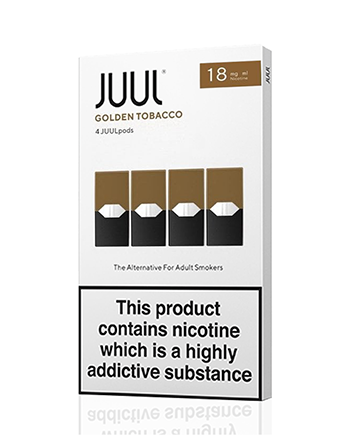 JUUL Golden Tobacco Nic Salt E-Liquid Pod - Vapox UK LTD (5238256599201)