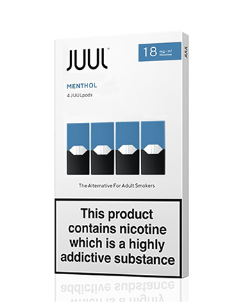 JUUL Menthol Nic Salt E-Liquid Pod - Vapox UK LTD (5238260695201)