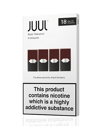 JUUL Rich Tobacco Nic Salt E-Liquid Pod - Vapox UK LTD (5481418227873)