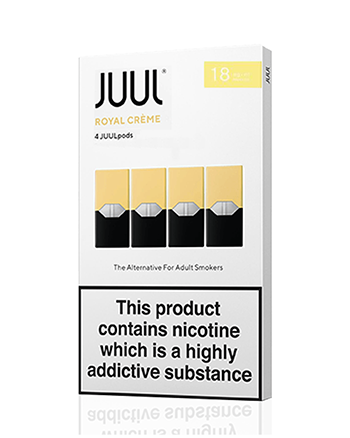 JUUL Royal Creme Nic Salt E-Liquid Pod - Vapox UK LTD (5238257647777)