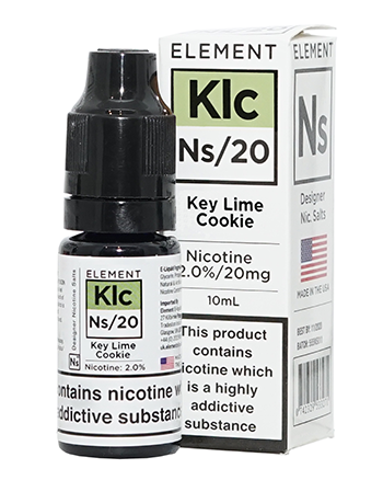 NS20 Key Lime Cookie eLiquid by Element - Vapox UK (4440344428616)