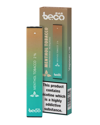 Menthol Tobacco Beco Bar Disposable Pod Device