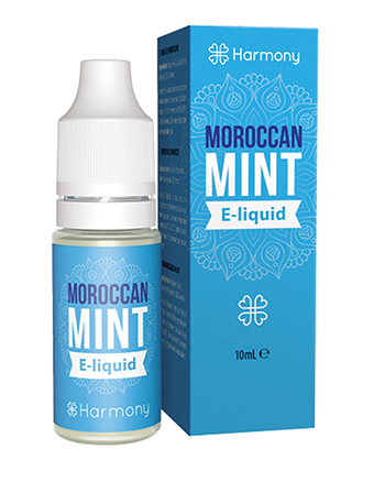 Moroccan Mint CBD eLiquid by Harmony Classics - Vapox UK LTD