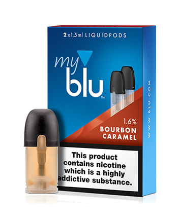 Bourbon Caramel eLiquid Pod by MyBlu - Vapox UK LTD (4404338262088)