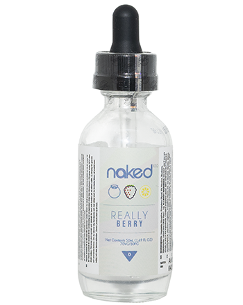 Really Berry eLiquid by Naked 100 50ml - Vapox UK