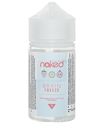 Brain Freeze eLiquid by Naked 100 50ml - Vapox UK LTD (4384540426312)