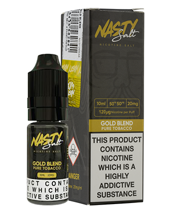 Gold Blend Nic Salt eLiquid by Nasty Juice - Vapox UK LTD (4548539121736)