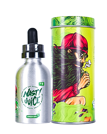 Green Ape eLiquid by Nasty Juice 50ml - Vapox UK LTD (4384541048904)