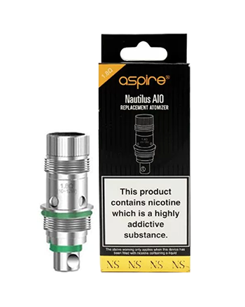 Aspire Nautilus AIO Nic Salt Coils - Vapox UK LTD (4514872787016)