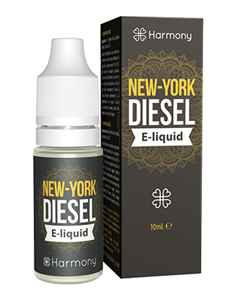 New York Diesel CBD eLiquid by Harmony Originals - Vapox UK LTD