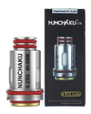 The Uwell Nunchaku replacement coils come in two variants; 0.4 Ohm Clapton coil and 0.25 Clapton Ohm Coil.  Both the 0.25 Ohm coil and 0.4 Ohm coil are recommended for sub-ohm use, this is for e-liquids that are 60% VG or higher.  - Vapox UK LTD  (5661637345441)