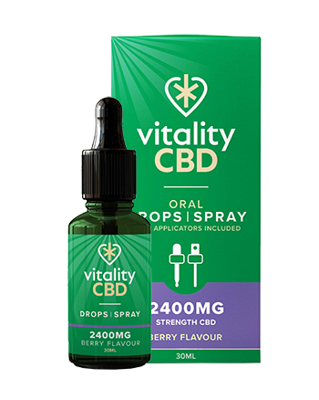 Vitality CBD Oral Drops is our most traditional tincture, complete with an easy-to-dose pipette. Like all of our CBD oils, they're broad spectrum, meaning they're rich in 40 cannabinoids, terpenes and flavonoids, all with 0% THC. Our Oral Drops are the perfect choice for real CBD enthusiasts as they use hemp seed oil as a carrier oil, renowned for being high in omega fatty acids and proteins. 2400mg Berry Vapox UK LTD (5720416682145)