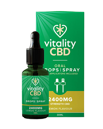 Vitality CBD Oral Drops is our most traditional tincture, complete with an easy-to-dose pipette. Like all of our CBD oils, they're broad spectrum, meaning they're rich in 40 cannabinoids, terpenes and flavonoids, all with 0% THC. Our Oral Drops are the perfect choice for real CBD enthusiasts as they use hemp seed oil as a carrier oil, renowned for being high in omega fatty acids and proteins. 2400mg Lemon Vapox UK LTD (5720416682145)