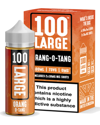 Orang-O-Tang eLiquid by 100 Large 100ml