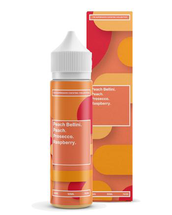 Peach Bellini Shortfill eLiquid by Supergood 50ml (6552638750881)