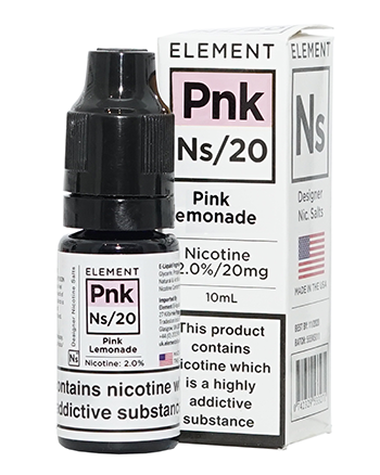 NS20 Pink Lemonade eLiquid by Element - Vapox UK LTD