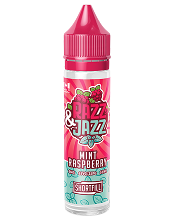 Mint Raspberry eLiquid by Razz & Jazz 50ml - Vapox UK LTD (5390019952801)