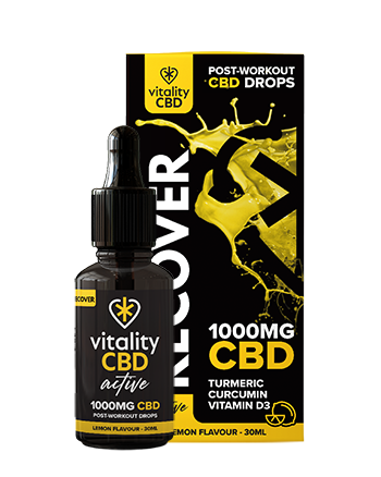 Recover CBD Drops by Vitality CBD Active
