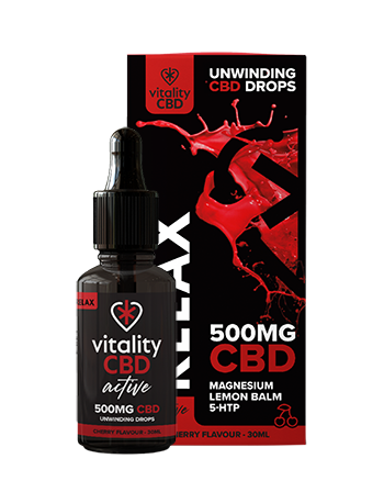 Vitality CBD Relax Drops have been designed to make sure you wind down too, which is where Vitality CBD Relax Drops come in. Rather than during your workout, just take them before bed.    This focus on rest is why we chose our lead ingredient lemon balm, known for acting as an anti-oxidant and contributing to a good, calm rest.  500mg Vapox UK LTD (5715288096929)