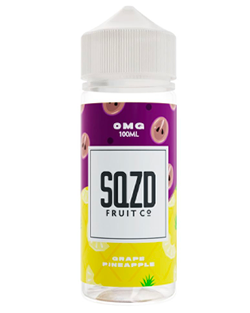 Grape Pineapple eLiquid by SQZD 100ml (5874492571809)