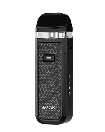 The Nord X Pod Kit is a sleek and compact pod vape kit for users of all experience levels. Powered by a built-in 1500mAh built-in battery.  The Smok Nord X features a single button operation mod for simple yet effective use. The new and improved Nord X has a 0.69 inch screen enabling the user to control and adjust the wattage.  Black Cobra - Vapox UK LTD (5667333603489)