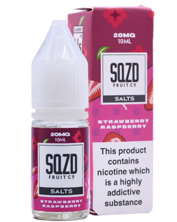Strawberry Raspberry Nic Salt eLiquid by SQZD - Vapox UK LTD (5373970514081)