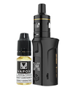 The Vaporesso Target Mini 2 Kit is small yet great sub-ohm and MTL vape kit. Powered by a built-in 2000mAh battery and capable of 50W maximum output, making it ideal for use with high VG and high PG eliquids for producing big clouds and great flavour.  Black Kit (5815021109409)