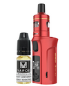 The Vaporesso Target Mini 2 Kit is small yet great sub-ohm and MTL vape kit. Powered by a built-in 2000mAh battery and capable of 50W maximum output, making it ideal for use with high VG and high PG eliquids for producing big clouds and great flavour.  Red Kit (5815021109409)