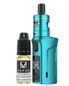 The Vaporesso Target Mini 2 Kit is small yet great sub-ohm and MTL vape kit. Powered by a built-in 2000mAh battery and capable of 50W maximum output, making it ideal for use with high VG and high PG eliquids for producing big clouds and great flavour.  Teal Kit (5815021109409)