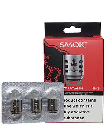 Smok V12 P-Tank M4 Coils - Vapox UK LTD