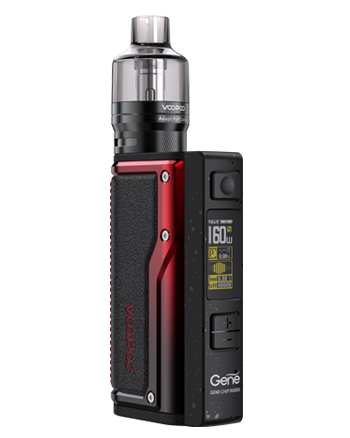 VooPoo Argus GT Kit Black and Red - Vapox UK LTD (5482924540065)