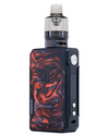 The Voopoo Drag 2 Refresh Kit combines high power output with a modern build. Powered by two 18650 vape batteries (sold separately) and capable of 177W maximum output, making it ideal for use with high VG eliquids for producing big clouds and great flavour.  Scarlet Colour - Vapox UK LTD (5585332732065)