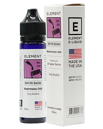 Watermelon Chill eLiquid by Element 50ml - Vapox UK (4490247635016)