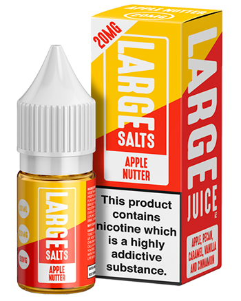 Apple Nutter e-liquid is a desserty combination featuring apple and cinnamon with caramel.  This e-liquid is 50%VG which is ideal for flavour and discreet clouds. We recommend using this e-liquid in a pod device or starter kit. (5794954150049)