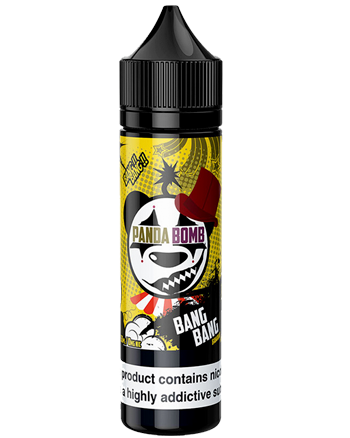 Bang Bang Banana Bread eLiquid by Panda Bomb 50ml - Bang Bang Banana Bread e-liquid is a dessert blend that features a freshly baked banana bread with a hint of cinnamon, a scoop of vanilla ice cream and then glazed with brown sugar. - Vapox UK LTD (5552633315489)