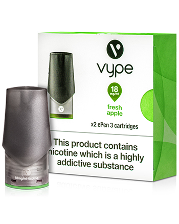 Fresh Apple eLiquid ePen 3 Pod by Vype - Vapox UK LTD (4576208224328)