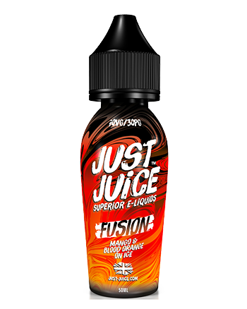 Mango & Blood Orange On Ice eLiquid by Just Juice Fusion 50ml (6551388094625)