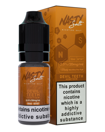Devil Teeth Nic Salt eLiquid by Nasty Juice - Vapox UK LTD (5389952483489)