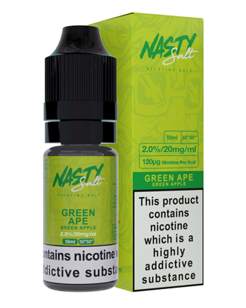 Green Ape Nic Salt eLiquid by Nasty Juice - Vapox UK LTD (5389957169313)