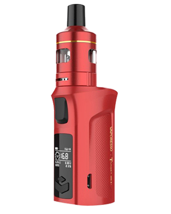 The Vaporesso Target Mini 2 Kit is small yet great sub-ohm and MTL vape kit. Powered by a built-in 2000mAh battery and capable of 50W maximum output, making it ideal for use with high VG and high PG eliquids for producing big clouds and great flavour.  Red Kit (5814579855521)