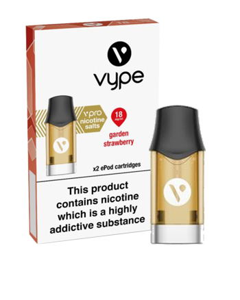 Garden Strawberry Nic Salt eLiquid ePod Pod by Vype - Vapox UK LTD (5434446905505)