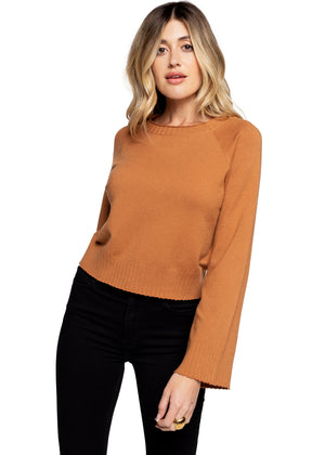 Cropped Sweater - Copper