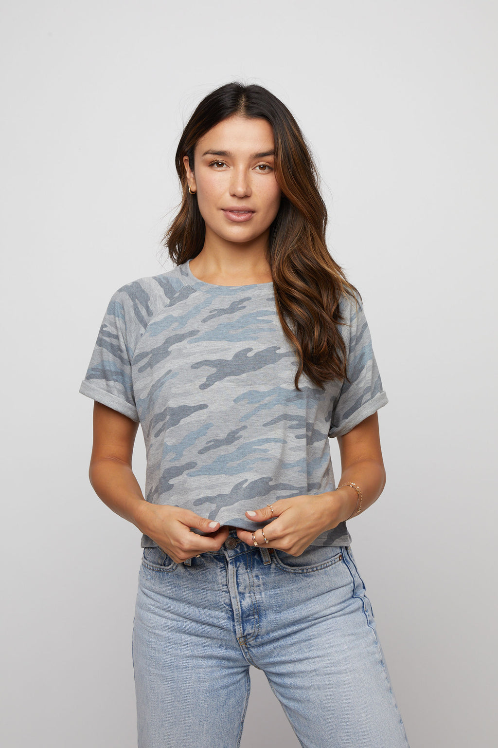 French Terry Tee - Camouflage - Made in USA