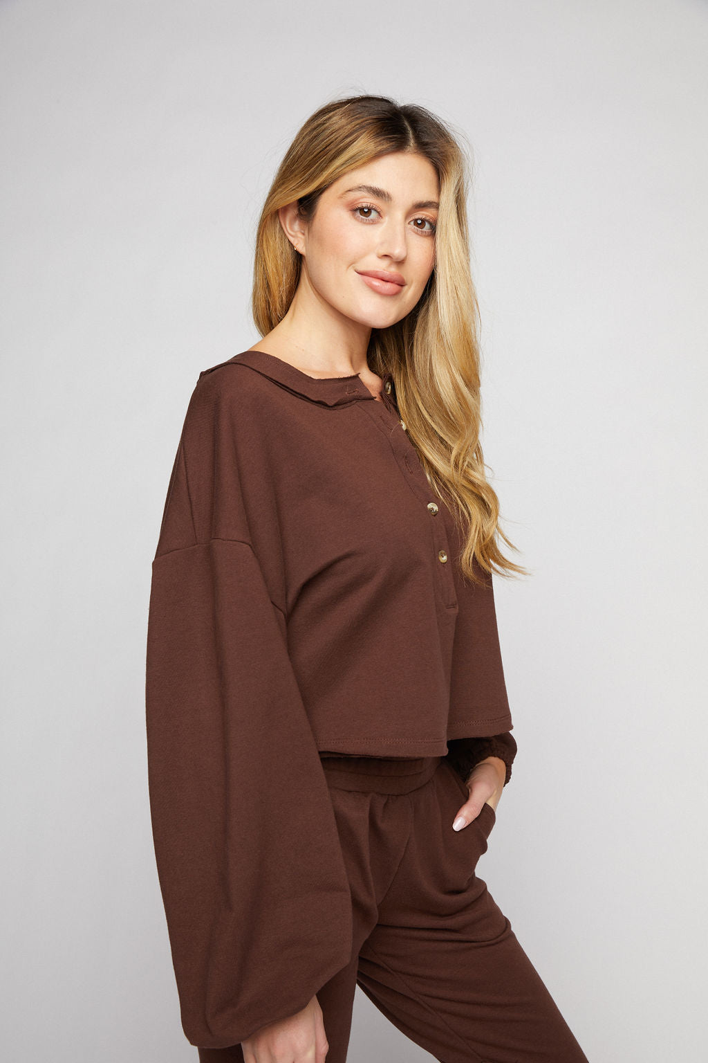 Sabrina Sweatshirt - Chocolate