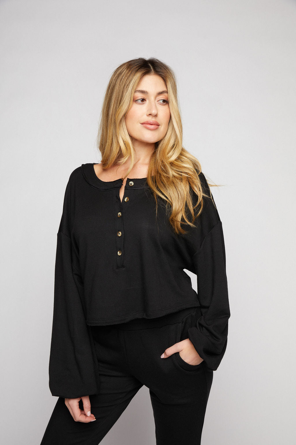 Sabrina Sweatshirt - Black