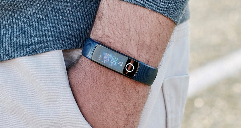 Smartband Honor Band 5 - Preto/Rosé/Azul