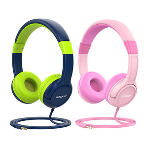 Headphone Infantil Ausdom K1 Kids Com Fio