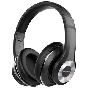 Headphone Ausdom ANC10 Bluetooth 5.0 Super Grave Cancelamento de Ruído 30h Play Time